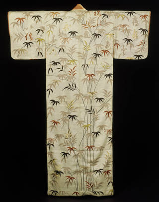 Kimono, 1780-1800, Japan. Museum no. FE.106-1982. © Victoria and Albert Museum, London
