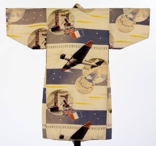 Kimono, 1937, Japan. Museum no. FE.2-2005. © Victoria and Albert Museum, London